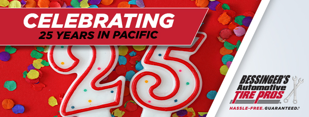 Celebrating 25 Years in Pacific